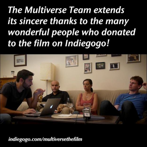 Our audience-building for Multiverse began with our crowdfunding campaign (even earlier, actually).