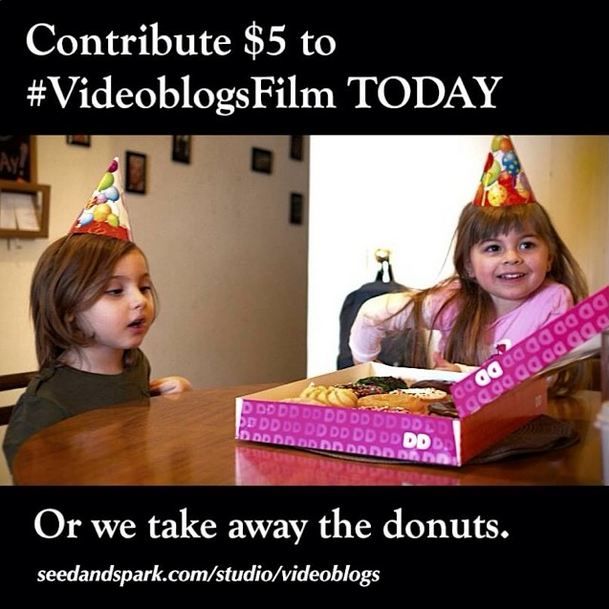 The joking started in fundraising. We honestly let them keep the donuts.