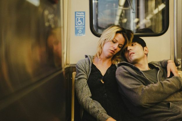 With limited time and money for rehearsal, David and Kim spent a day exploring Chicago on the train.
